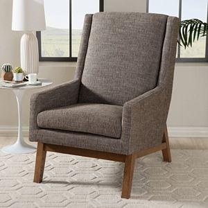Baxton Studio Aberdeen Mid-Century Modern Accent Chair