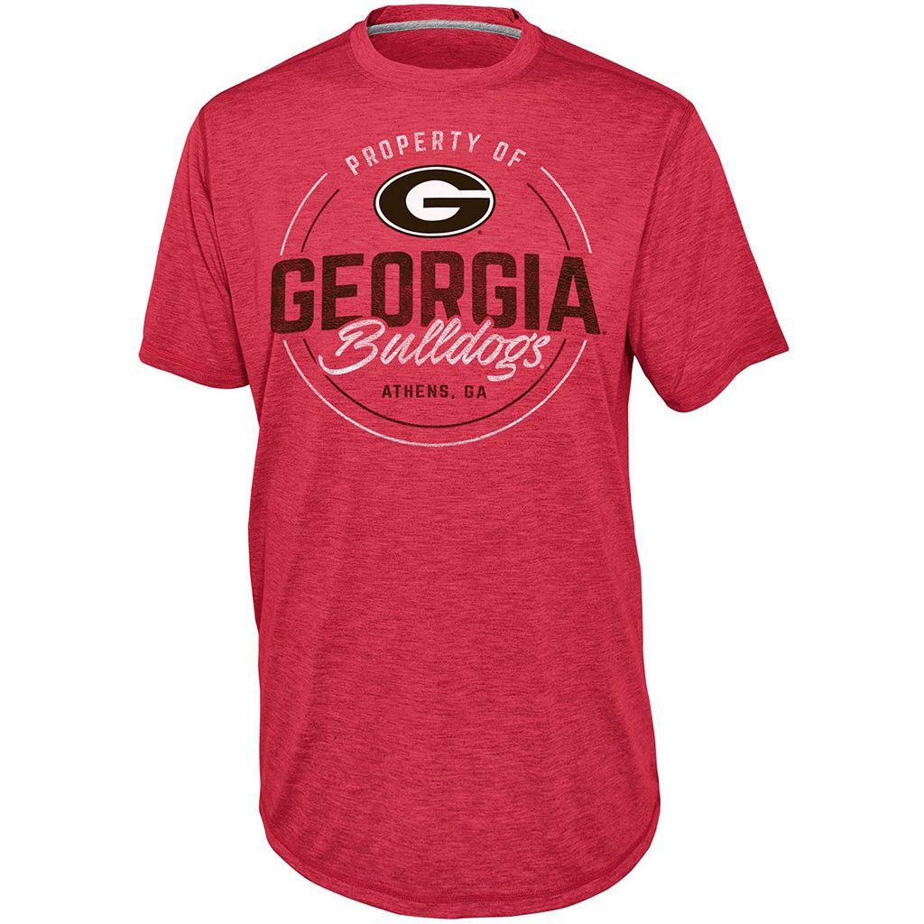 Men's Champion Georgia Bulldogs Blended Tee