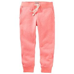 Baby Girl OshKosh B'gosh® Fleece Jogger Pants