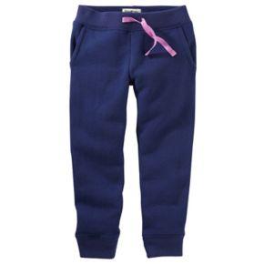 Baby Girl OshKosh B'gosh® Fleece Jogger Pants
