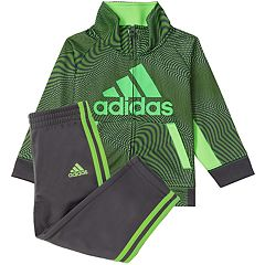 Baby Boy adidas Print Logo Jacket & Pants Set