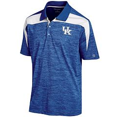 Men's Champion Kentucky Wildcats Boosted Stripe Polo