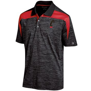 Men's Champion Cincinnati Bearcats Boosted Stripe Polo