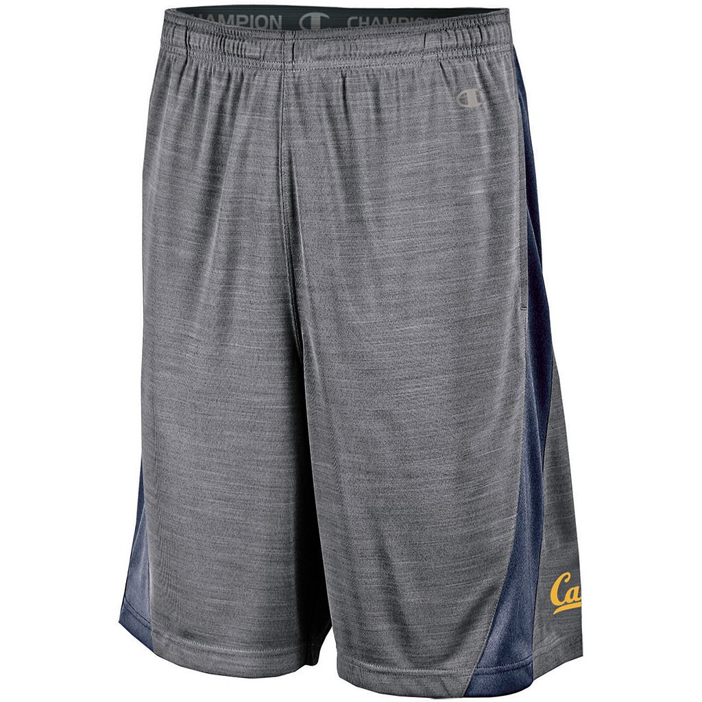 Men's Champion Cal Golden Bears Boosted Stripe Shorts