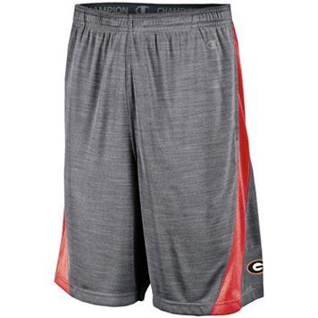 Men's Champion Georgia Bulldogs Boosted Stripe Shorts