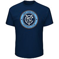 Men's Majestic New York City FC Logo Tee