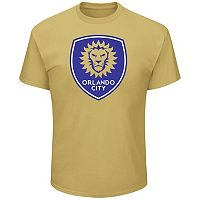 Men's Majestic Orlando City SC Logo Tee