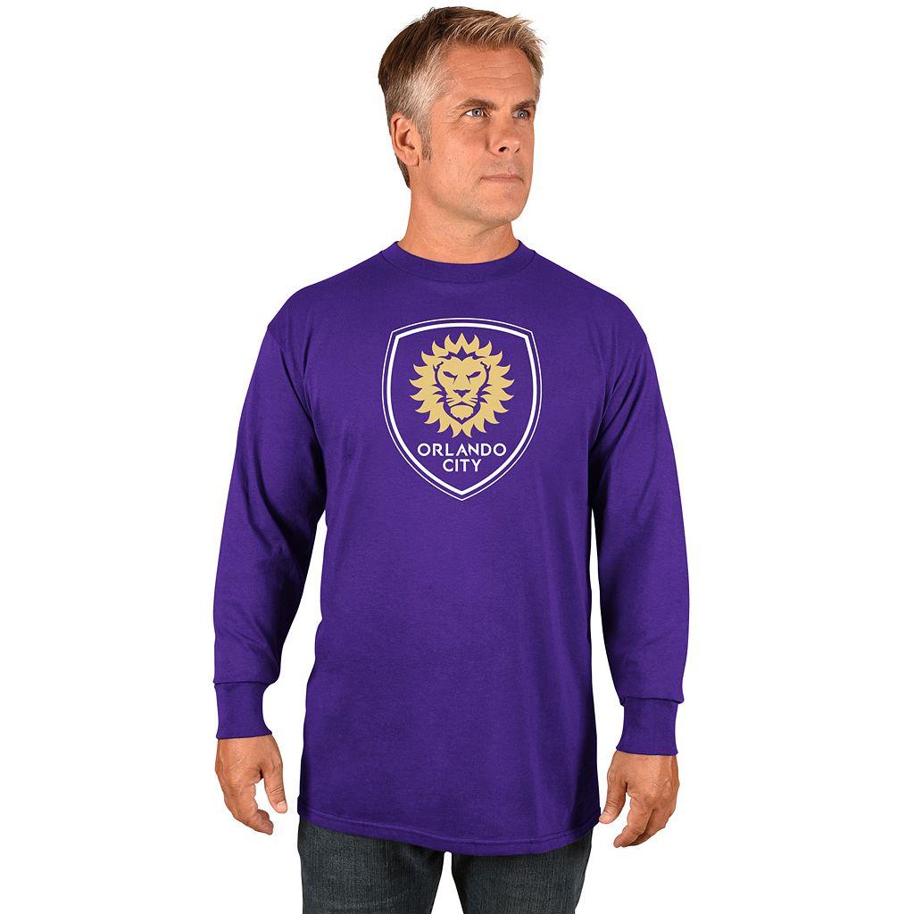 Men's Majestic Orlando City SC Logo Tee