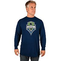 Men's Majestic Seattle Sounders Logo Tee