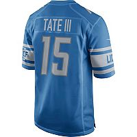 Men's Nike Detroit Lions Golden Tate NFL Alternate Replica Jersey