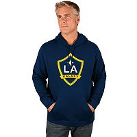 Men's Majestic Los Angeles Galaxy Logo Hoodie