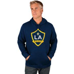 Men's Majestic Los Angeles Galaxy Logo Hoodie