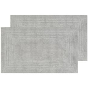 Safavieh 2-pack Plush Framed II Bath Rug Set - 21'' x 34''