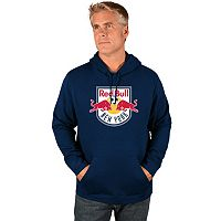 Men's Majestic New York Red Bulls Logo Hoodie