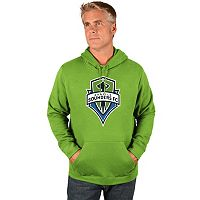 Men's Majestic Seattle Sounders Logo Hoodie