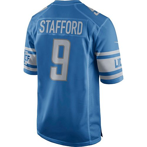 separation shoes cff52 8cb18 Men's Nike Detroit Lions Matthew Stafford NFL Alternate Replica Jersey