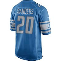 Men's Nike Detroit Lions Barry Sanders NFL Alternate Replica Jersey