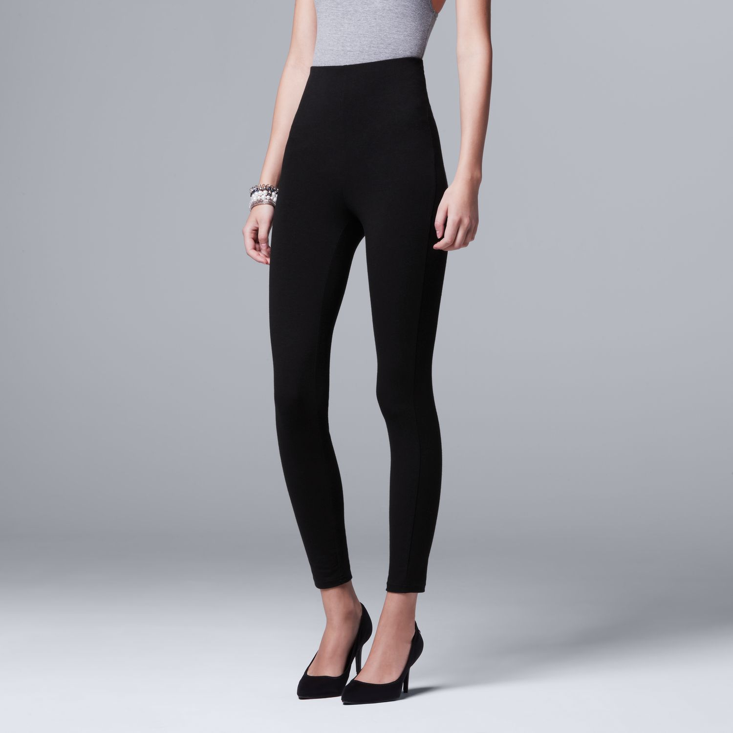648cee40e7a Women s Simply Vera Vera Wang High-Waisted Shaping Leggings