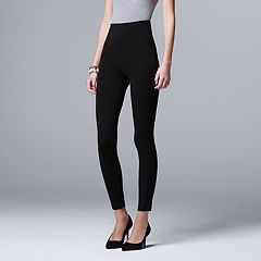 Women's Simply Vera Vera Wang High-Waisted Shaping Leggings