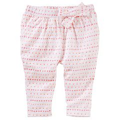 Baby Girl OshKosh B'gosh® Geo Knit Pull-On Pants