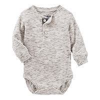 Baby Boy OshKosh B'gosh® Thermal Slubbed Bodysuit