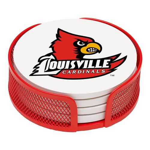 Thirstystone University of Louisville Coaster Set