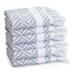 Linum Home Textiles 6-pack Washcloth Set