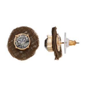 Simply Vera Vera Wang Chiffon Stud Earrings