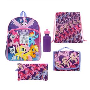 "Kids My Little Pony ""Adventure and Friendship Forever"" Twilight Sparkle, Pinkie Pie, Rainbow Dash, Rarity, Fluttershy & Applejack Backpack"