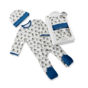 Baby Boy Baby Aspen Little Peanut Elephant Pajama & Hat Gift Set