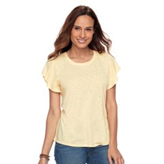 Petite SONOMA Goods for Life™ Flutter Sleeve Tee