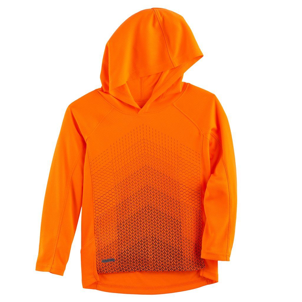 Boys 4-10 Jumping Beans® Hooded Mesh Long Sleeve Top