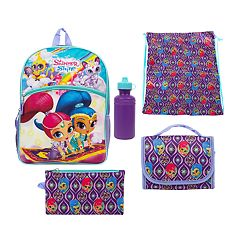 Kids Shimmer & Shine 5 pc Backpack & Lunch Box Set