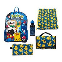 Kids Pokemon Pikachu, Rowlet, Popplio & Litten Backpack