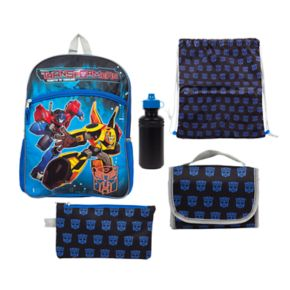Kids Transformers Optimus Prime & Bumblebee 5-pc. Backpack & Lunch Box Set