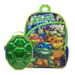 Kids Teenage Mutant Ninja Turtles Backpack & Shell Lunch Box Set