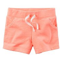 Toddler Girl Carter's French Terry Shorts