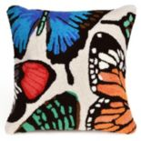 Trans Ocean Imports Liora Manne Butterfly Dance Indoor Outdoor Throw Pillow
