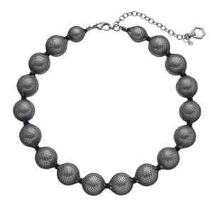 Simply Vera Vera Wang Mesh Beaded Necklace