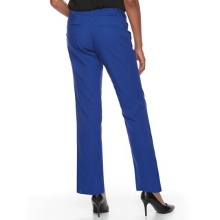 Petite Apt. 9® Torie Curvy Straight-Leg Dress Pants