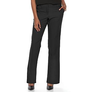 Petite Apt. 9® Torie Curvy Straight-Leg Dress Pants