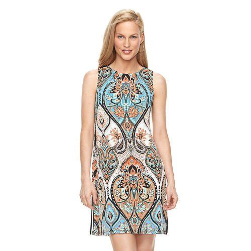 Women's Suite 7 Paisley Shift Dress