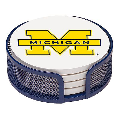 Thirstystone University of Michigan Coaster Set