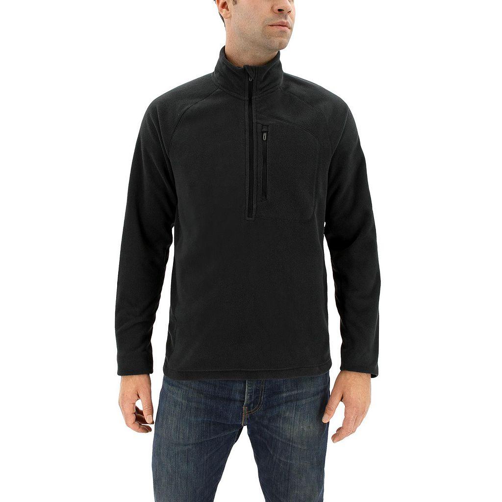 Men's adidas Outdoor Reachout Performance Fleece Half-Zip Jacket