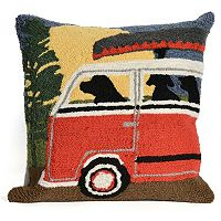 Liora Manne Camping Trip Throw Pillow