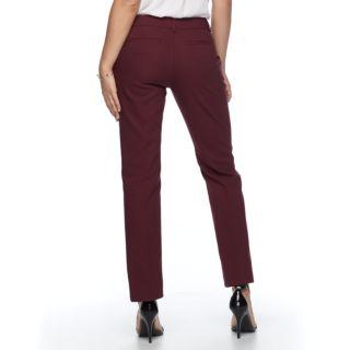 Petite Apt. 9® Torie Modern Fit Straight-Leg Dress Pants