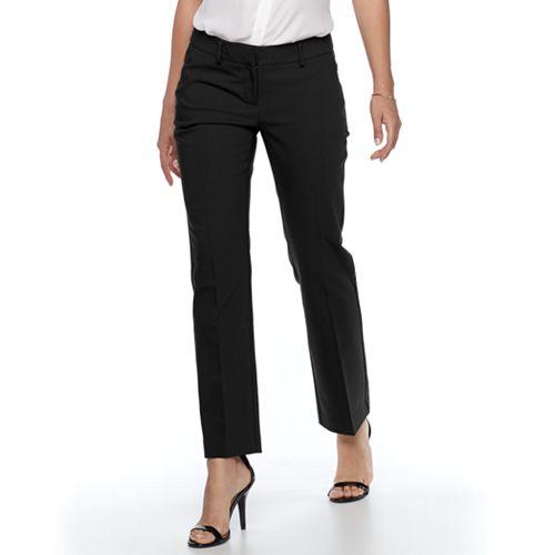 40ff30f105b Petite Apt. 9® Torie Modern Fit Straight-Leg Dress Pants