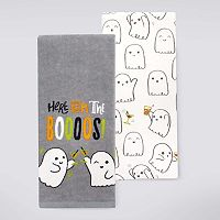 Celebrate Halloween Together Here For The Boos Kitchen Towel 2-pk.