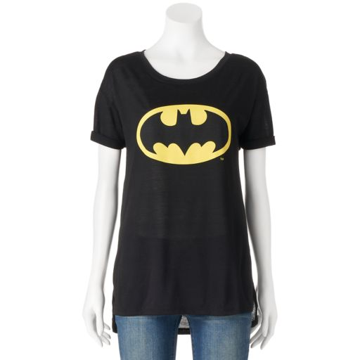 Juniors' DC Comics Batman Logo Graphic Tee
