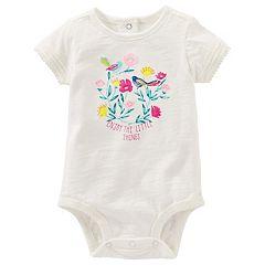 Baby Girl OshKosh B'gosh® 'Enjoy the Little Things' Bodysuit